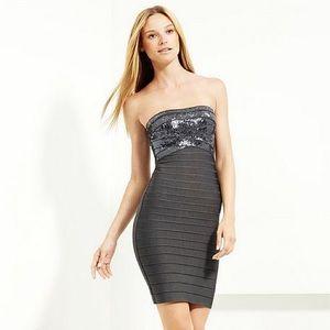 Herve Leger Simone Sequin Dress